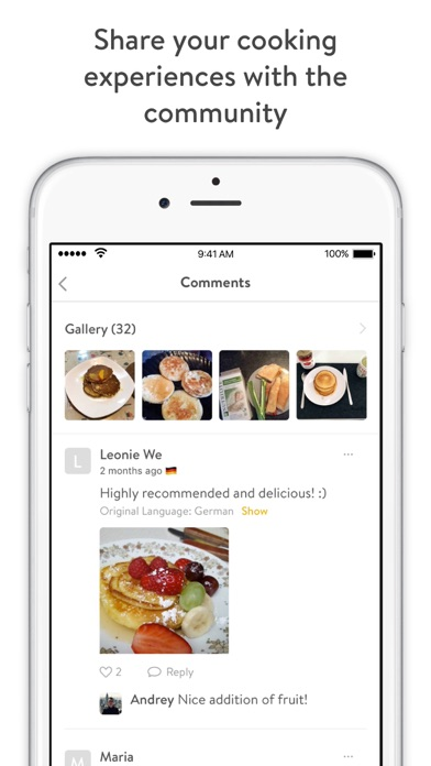 Kitchen stories recipes and cooking app for iphone ipad and apple kitchen stories app is the winner of apple design awards 2017 forumfinder Gallery