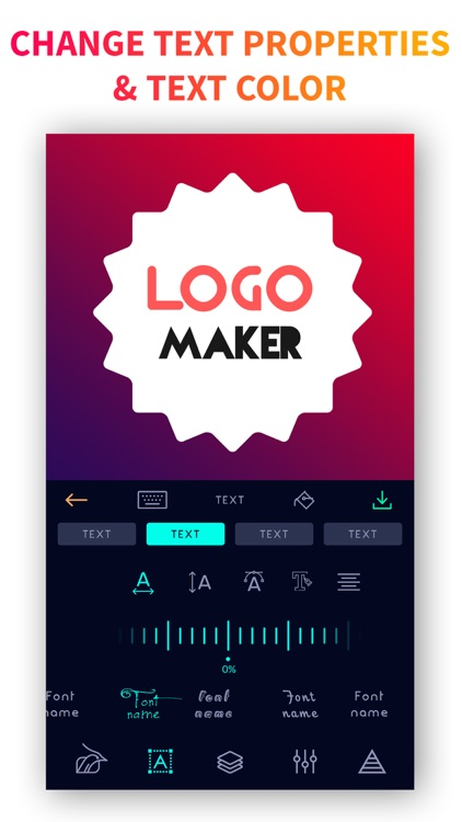 Logo Maker - poster Creator screenshot-1