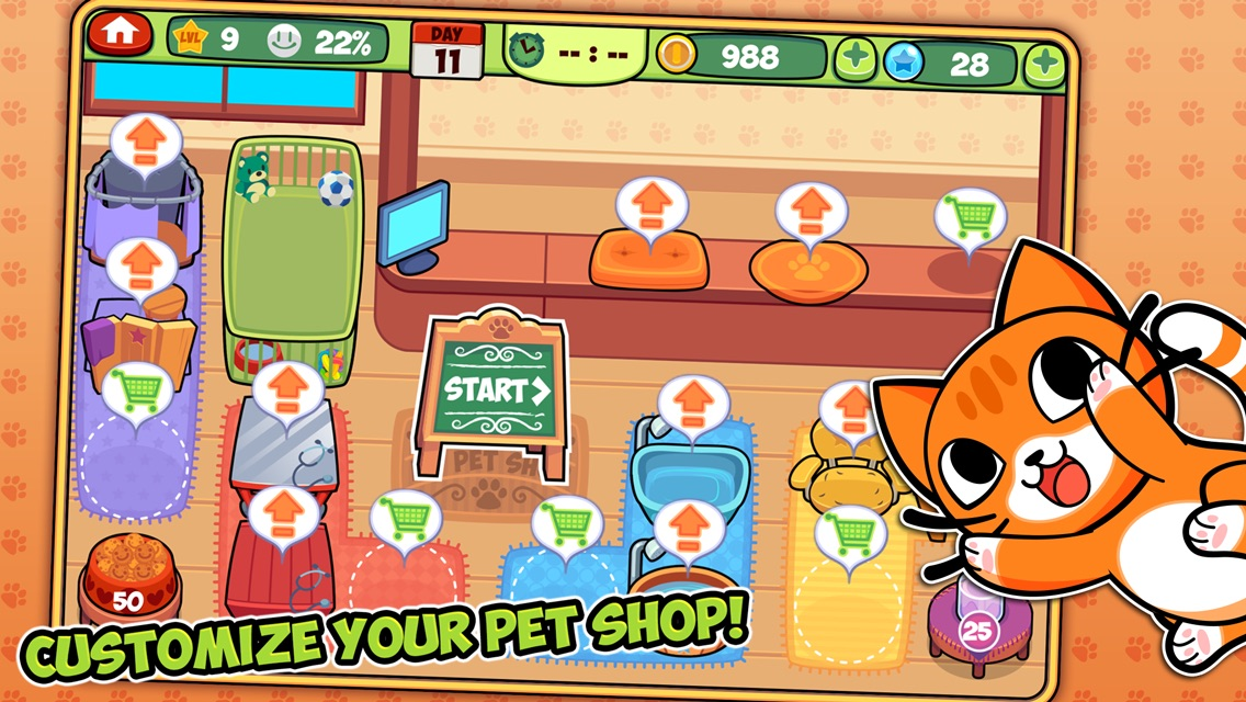 My Virtual Pet Shop Screenshot