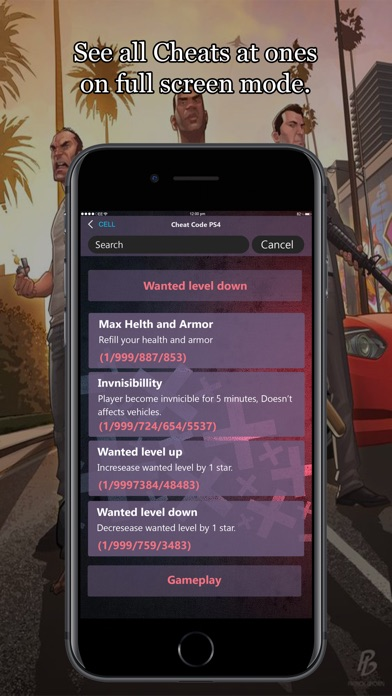 All Cheat Codes for GTA 5 - App - iPod, iPhone, iPad, and iTunes are