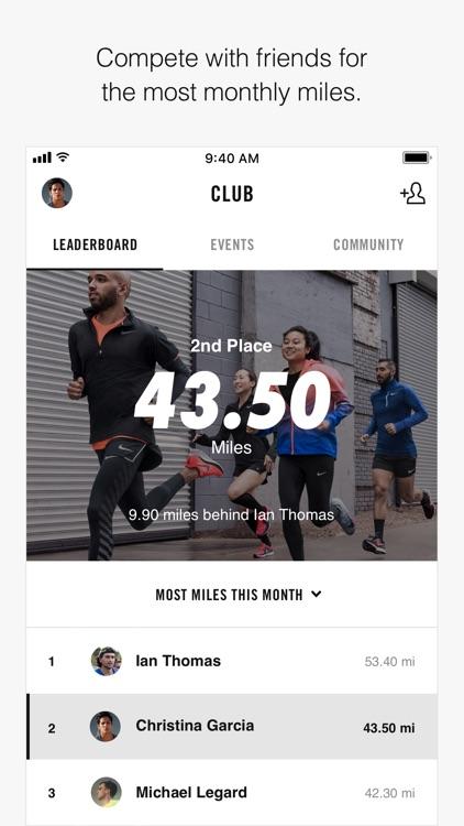 Nike+ Run Club screenshot-4