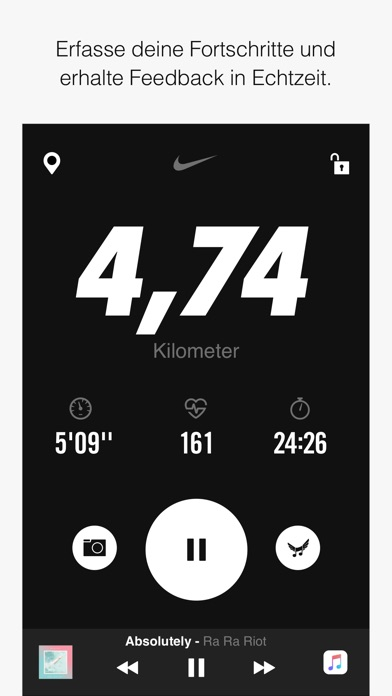 Nike+ Run Club Screenshot