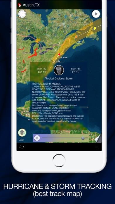 Radar MAX: NOAA Weather radar iPhone