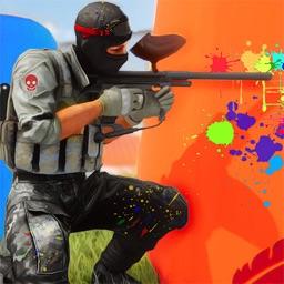 Paintball Shooting Arena 3D