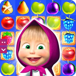 Masha and the bear: Candy Jam Day - match 3 games