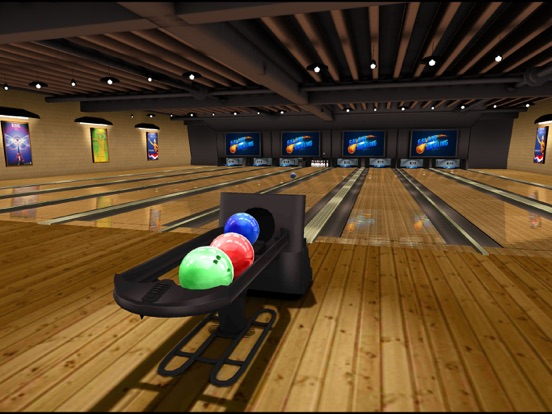 Galaxy Bowling HD на iPad