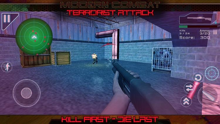 Modern Combat Terrorist Attack screenshot-5