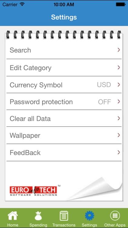 Spending Tracker - Manager screenshot-3