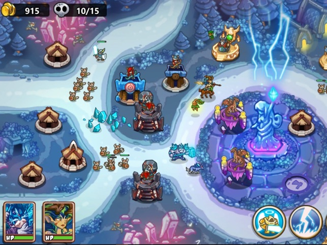 Kingdom Defense: Hero Legend Screenshot