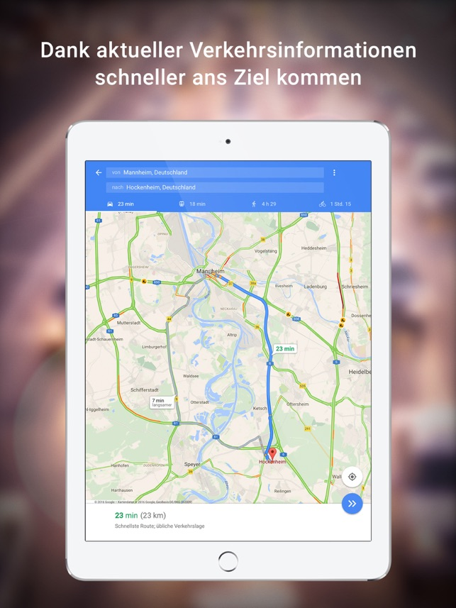 Google Maps - Transit & Essen Screenshot