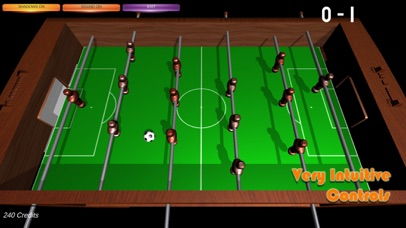 Table Soccer Foosball 3D screenshot 3