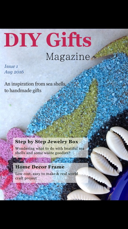 DIY Gifts (Magazine) screenshot-2