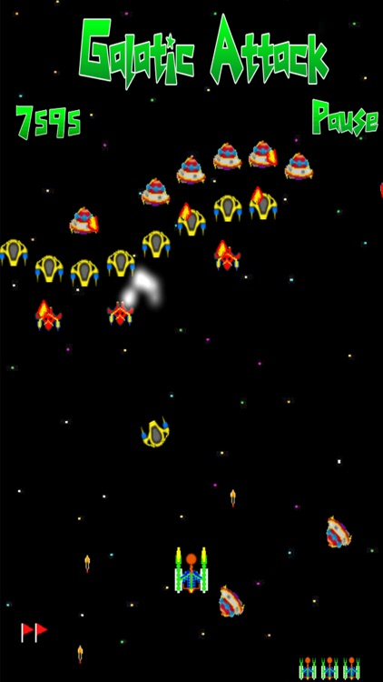 Galatic Attack Pro screenshot-0