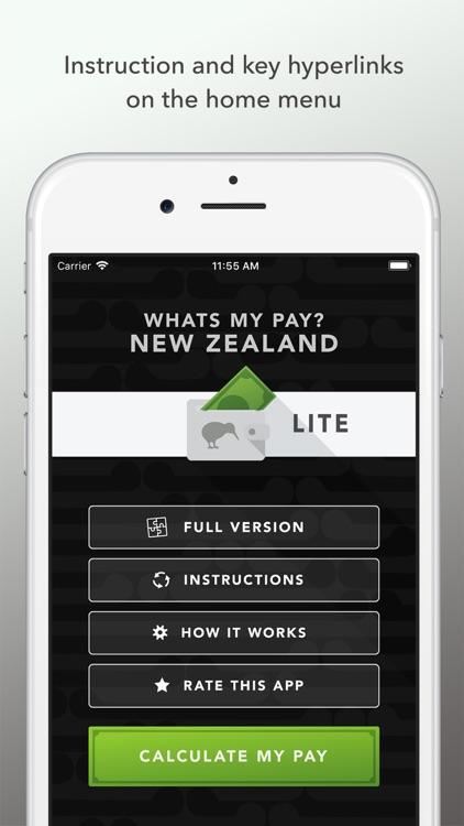 Whats my pay? NZ 2018 LITE screenshot-3