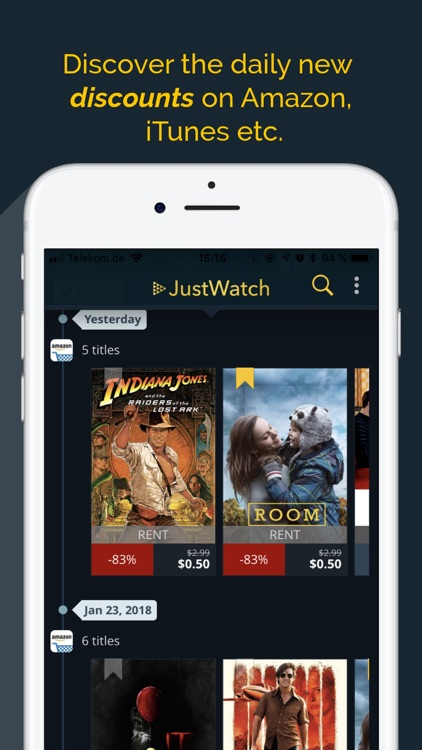 JustWatch - Movies & TV Shows screenshot-4