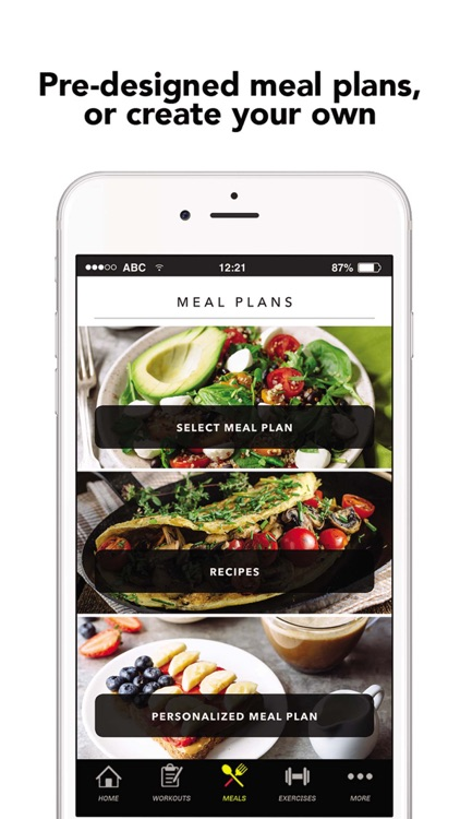 FitNation: Workout & Meal Plan