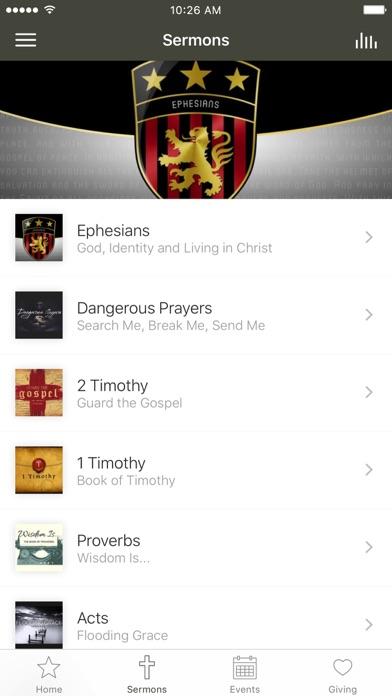 Trinity Bible Church   Canmore screenshot 2