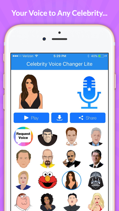 Celebrity Voice Changer -Sound for pc