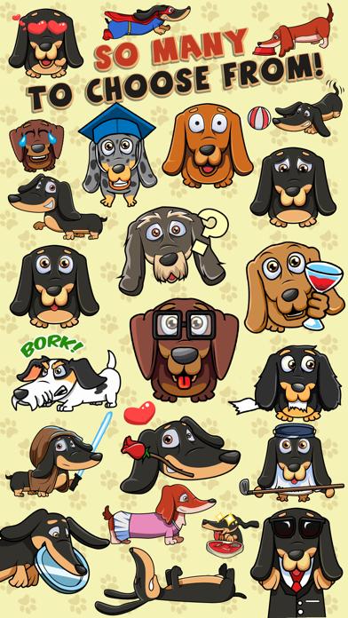 SausageMoji - Dachshund Emojisのおすすめ画像2