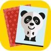 记忆游戏 - 发现卡背后的动物 - iPhoneアプリ