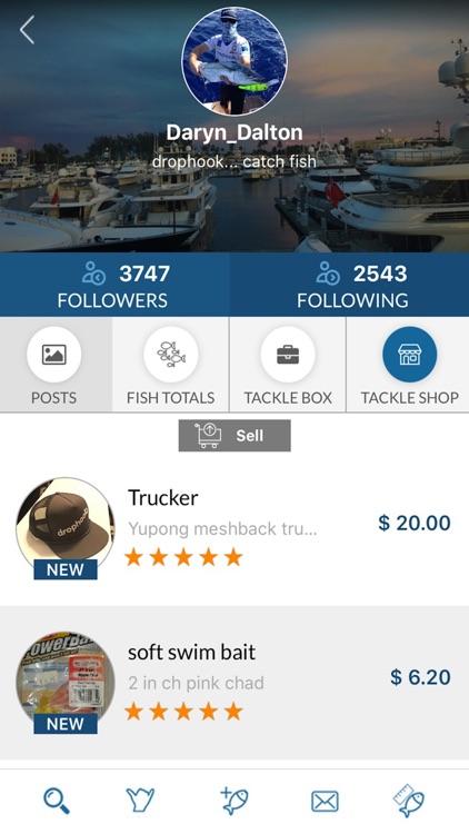 drophook Fishing App screenshot-3