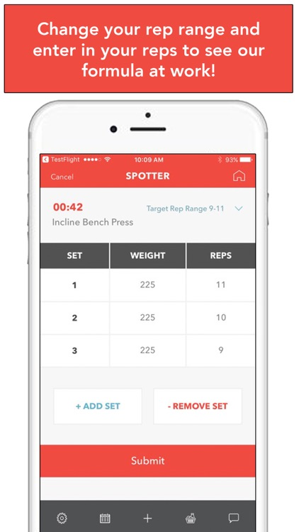 Spotter: Weightlifting Tracker screenshot-3