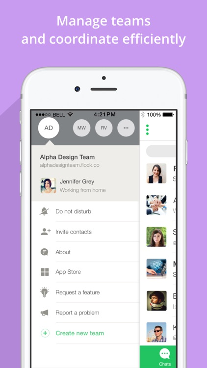 Flock: Team Communication App