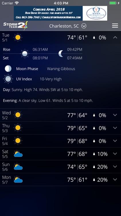 WCBD Weather screenshot-4