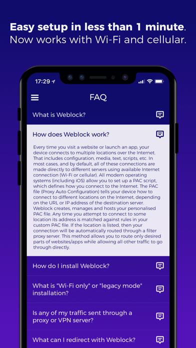 Weblock: adblock & proxyのおすすめ画像5