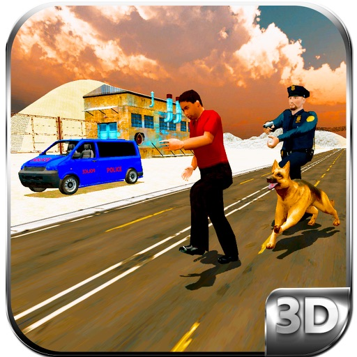 Police Dog Sniffer Border Patrol & Transport Duty