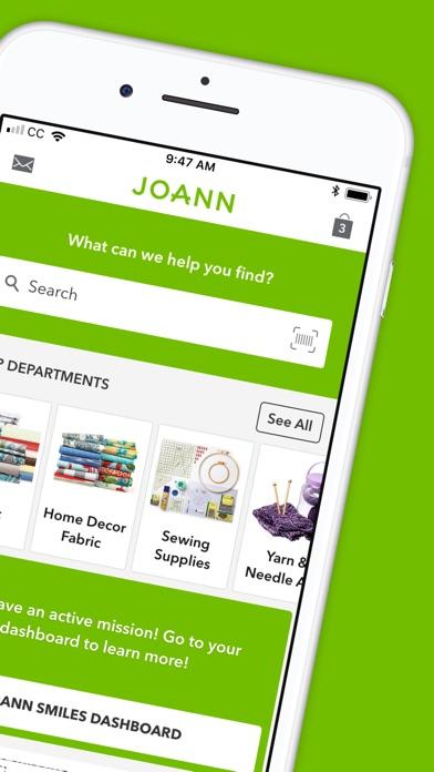 Joann review screenshots