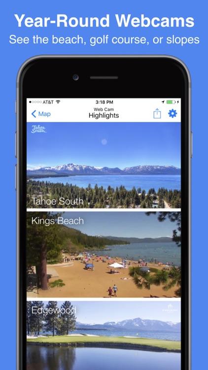 Tahoe Snow Map & Webcams screenshot-4