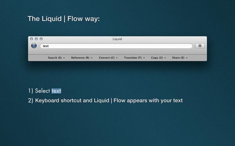 Liquid Information Screenshot