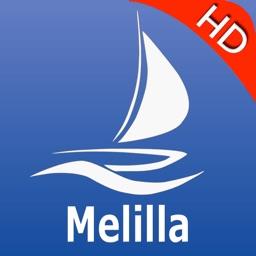 Melilla GPS Nautical Chart Pro