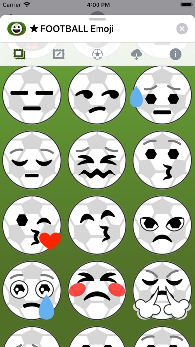 Football Emoji • Stickers screenshot 4