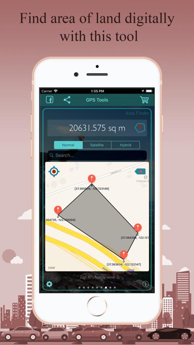 Screenshot of GPS Tools®7