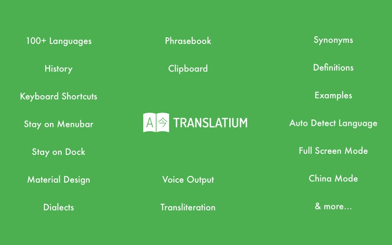 Translatium: Translator Screenshots