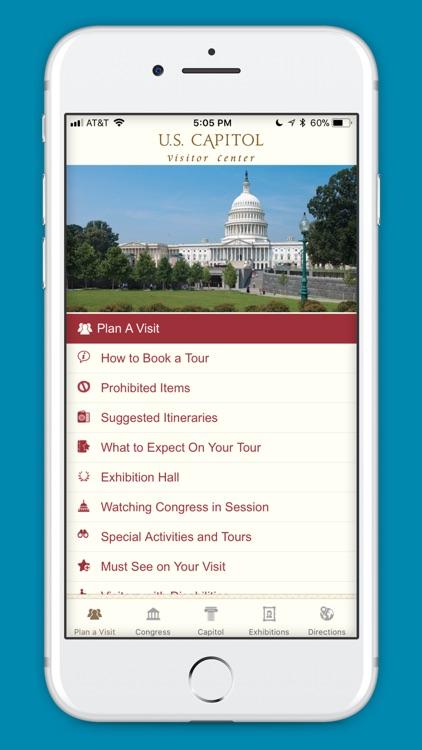 U.S. Capitol Visitor Guide
