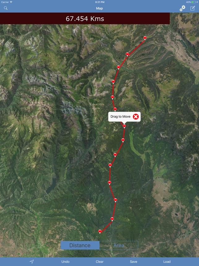 Measure Map Distances u0026 Areas