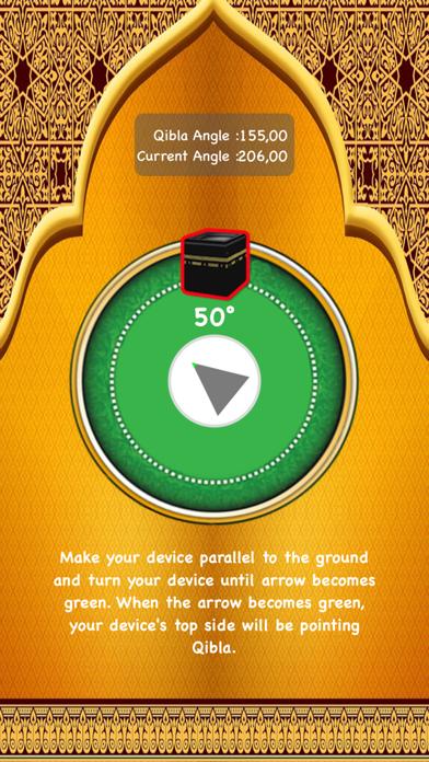 Qibla Finder and Qibla Locator screenshot two