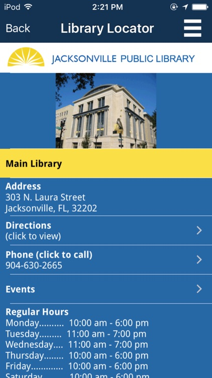 Jacksonville Public Library screenshot-4