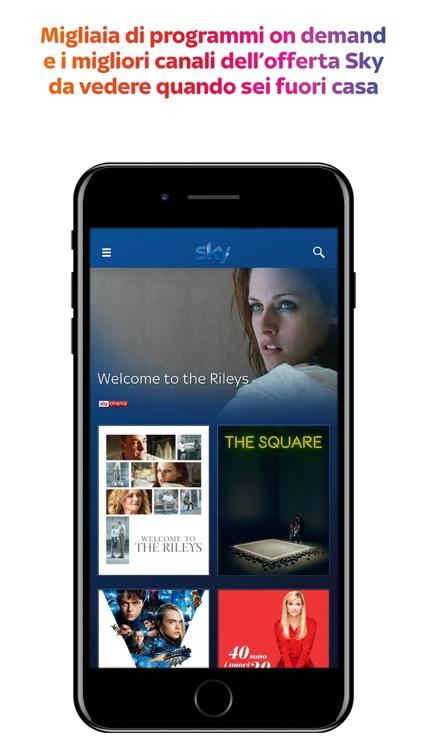 Sky Go per i clienti Sky Q screenshot-3