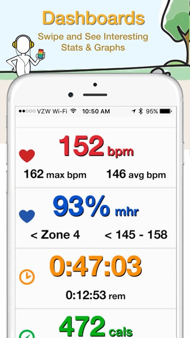 iBiker Cycling & Heart Trainer screenshot three
