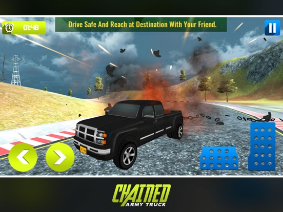 Chained Army Truck Driver screenshot 8