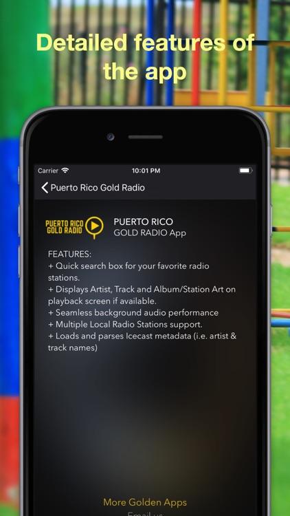 Puerto Rico Gold Radio screenshot-3