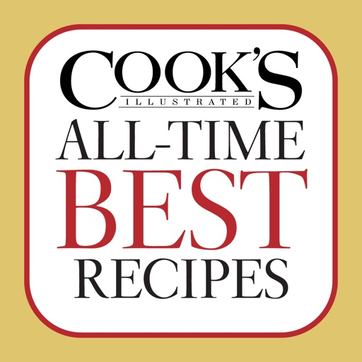 Cook's Illustrated All-Time Best Recipes