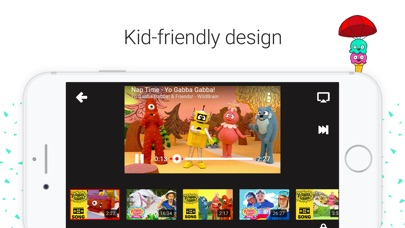 Screenshot for YouTube Kids in Belgium App Store