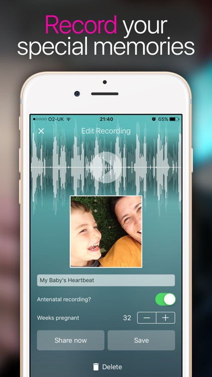 Hear My Baby Heartbeat App screenshot-2