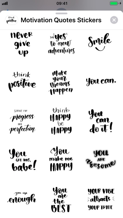 Motivation Quotes Stickers screenshot-4