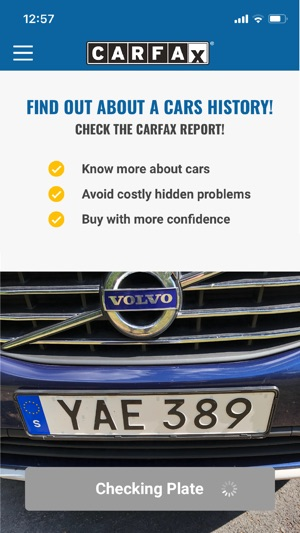CARFAX - Check a car on the App Store